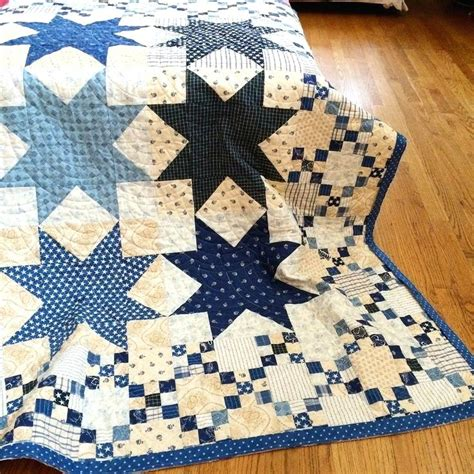 Patchwork Quilt Patterns Uk - 9 patch quilt blue and white patchwork quilt patterns blue