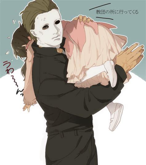 michael myers x oc halloween via tumblr by zamzaam we heart it
