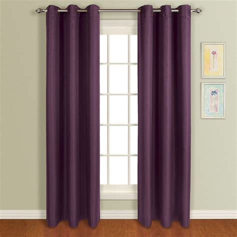 grommet top curtain united curtain mansfield plum grommet top curtain panel