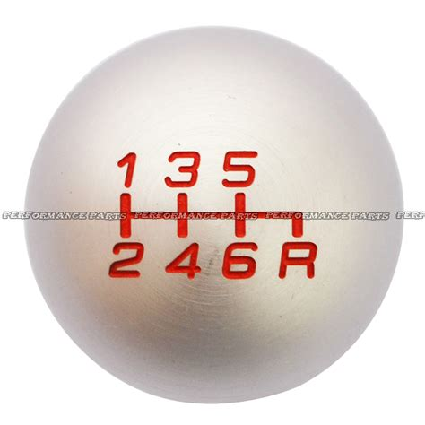 Fd2 Shift Knob by Style Silver Racing Gear Shift Knob For Fd2 6 Speed
