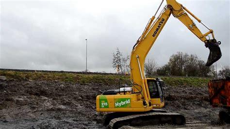 Komatsu Pc 215 Hybrid komatsu hb 215 hybrid excavator