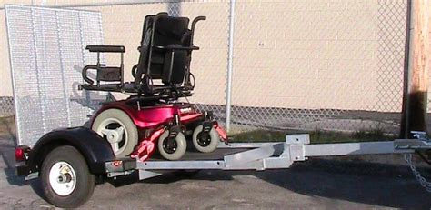 The Chair Trailer by Versa Mobility Wheelchair And Scooter Powerchair Trailer