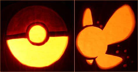 pokemon pokeball pumpkin carving patterns images pokemon