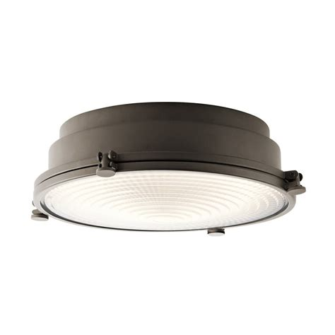 kichler hatteras bay fan shop kichler lighting hatteras bay 18 in w olde bronze led