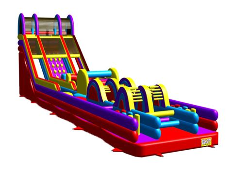 Big Backyard 5k Inflatable Obstacle Course For Adults 66ft Inflatable