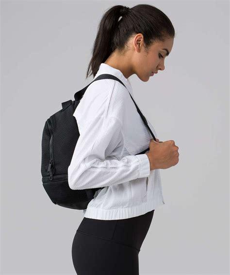 lululemon go lightly backpack lululemon go lightly backpack mesh mini 12l black