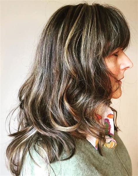 long long hair w lots layers and bangs 50 modern haircuts for women over 50 with extra zing