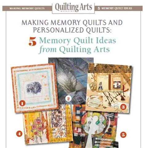 Free Quilting Ebooks by Free Ebook Memory Quilts And Personalized Quilts