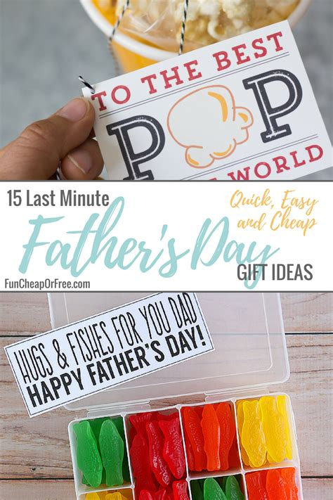 fathers day ideas 15 last minute s day ideas easy and cheap