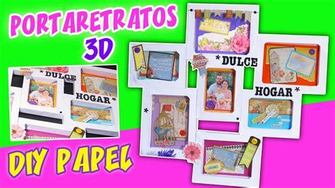decoracion para cartulinas diy portaretratos 3d de cartulina ideas para decorar