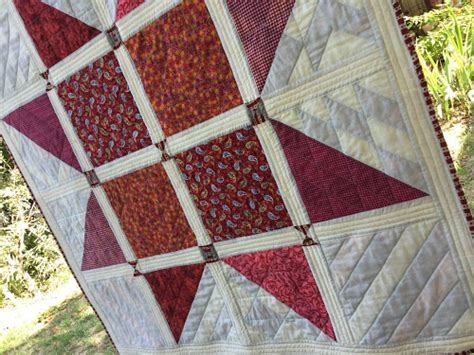 bq quilt pattern fabric requirements 16 half square triangles hst sler quilt free