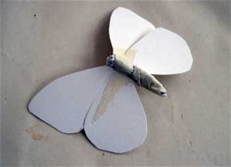 How To Make Paper Mache Butterfly - make a delicate butterfly with paper mache clay ultimate
