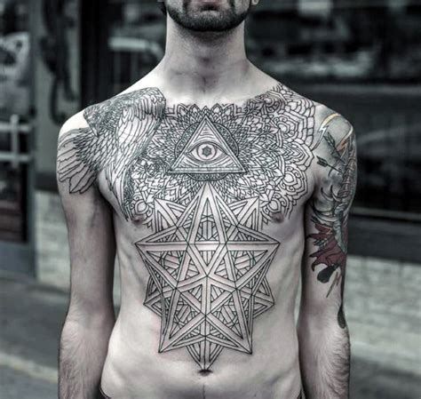 tattoo mens chest top 90 best chest tattoos for men manly designs and ideas