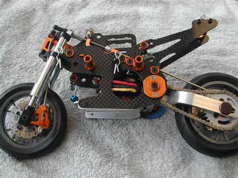 Chasis 2 Non Carbon 2 wheel hobbies