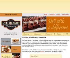 deli brands of america deli brands of america el toro gourmet meats seafood