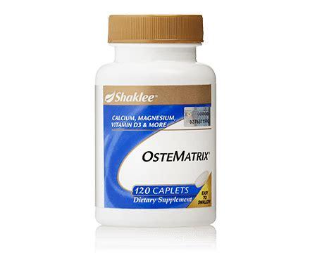 Vitamin Ostematrix ostematrix bone health shaklee malaysia