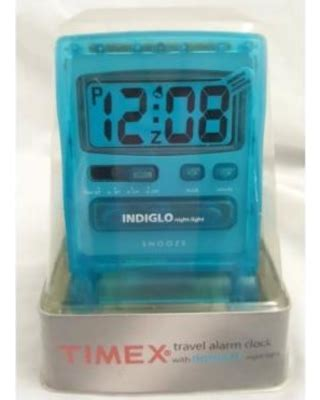 11 timex 3471t travel alarm clock with indiglo light