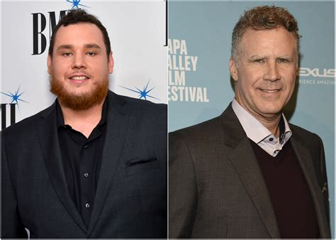 luke combs fan luke combs is a will ferrell fan sounds like