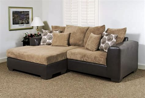 Small Sectional Sofa With Chaise Lounge Enchanting Small Sofa With Lounger