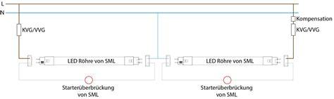 le oder leuchte umr 252 stung leuchtstoffle auf led r 246 hre smart mit led sml