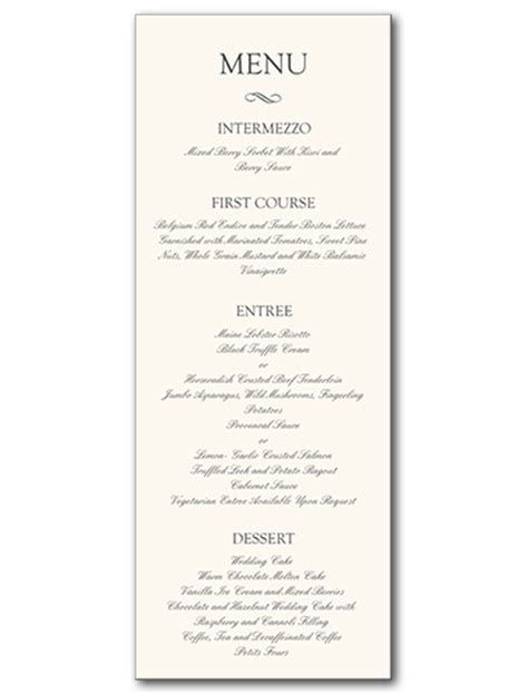 formal menu gse bookbinder co