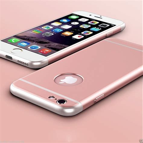 vorson 174 apple iphone 6 plus 6s plus series ultra thin 0 5mm electroplating splicing pc
