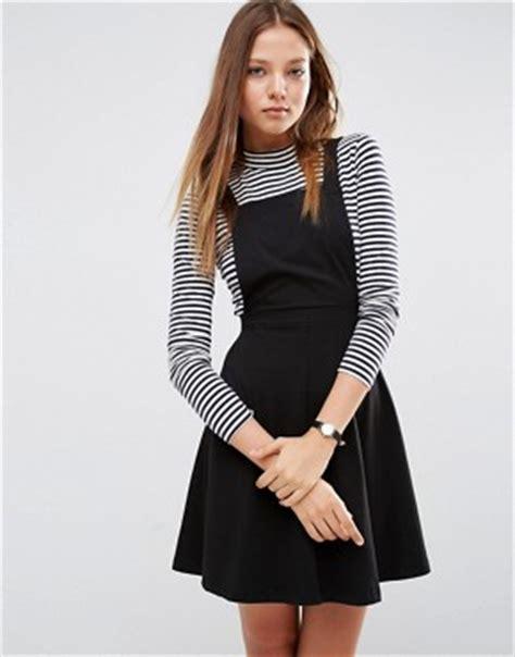 Plain Pinafore Midi Dress pinafores dungaree pinafore dresses asos