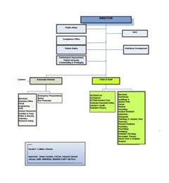 organizational chart template doc sle hospital organizational chart 8 documents in pdf