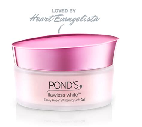 Ponds Flawless White Dewy 10g evangelista s secret to skin style ph