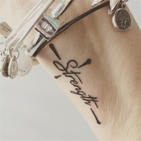 cross with words tattoo best 25 cross wrist ideas on
