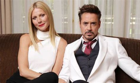 robert downey jr friends gwyneth paltrow and robert downey jr cosy up and tell all