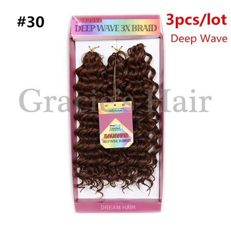 10inch deep wave synthetic braided style 10inch freetress water wave 10inch deep wave synthetic braided style 10inch freetress