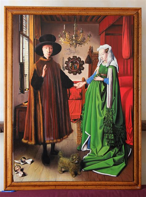 the arnolfini wedding portrait jan eyck painting reproductions and paintings