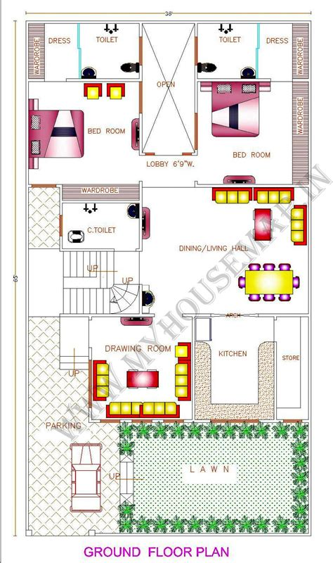 house naksha in india studio design gallery best