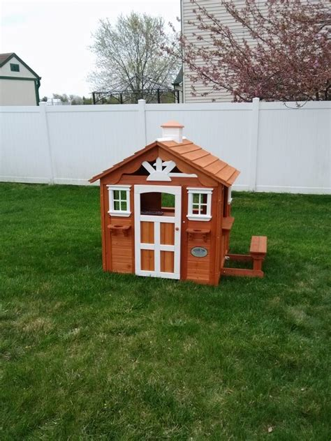 backyard cottage playhouse pin by swingset installer on swingset installer pinterest