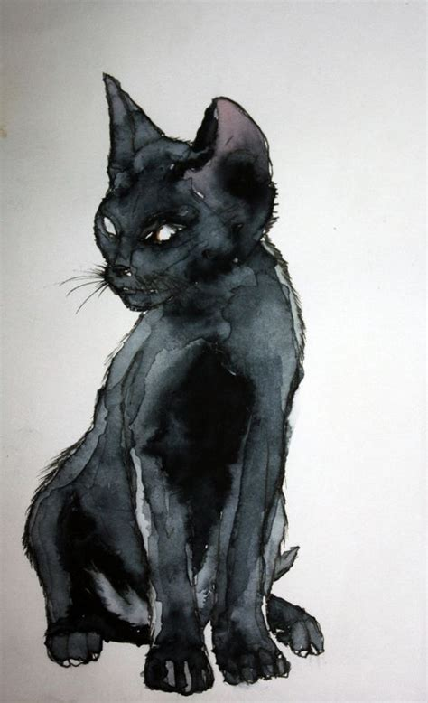 tattoo cat noir le chat noir cheryl ponce via sally ann noel onto cats in