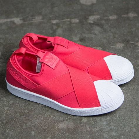 Adidas Superstar Slip On Pink Original cheap adidas superstar slip on pink shoes sale uk