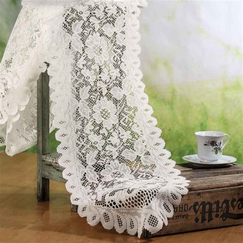 ivory lace table runner ivory lace doily table runner crochet and lace doilies