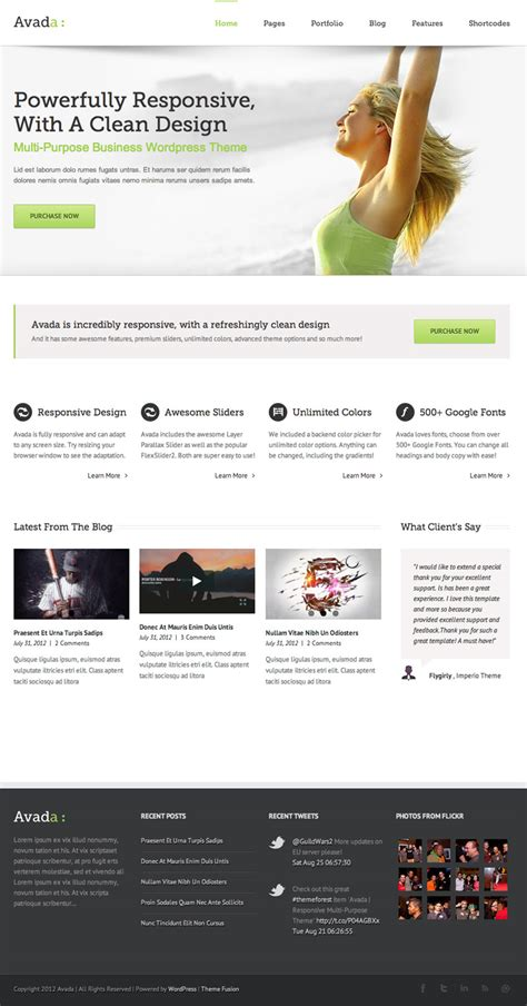 theme avada wordpress free avada wordpress theme wptopthemes