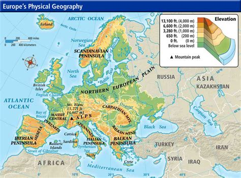 russia and europe physical map mr morris world history 9 website 2012 2013 middle ages