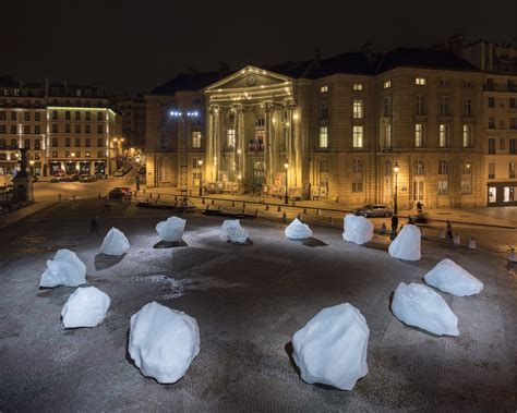 Decorating Program olafur eliasson s sundial of melting icebergs clocks in at
