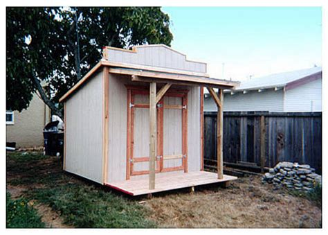 California Sheds Salinas by California Custom Sheds 10x16 Western Roof Style