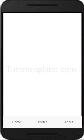 ionic tutorial screen ionic tabs exle top bottom with icons position
