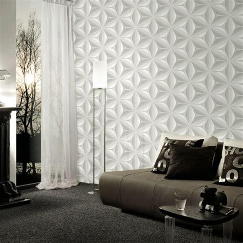 tappezzeria 3d carta da parati per arredare le pareti in soggiorno
