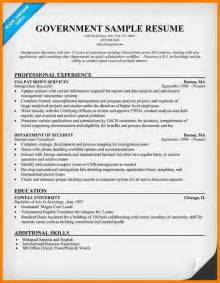 Resume Writing For Government Jobs 3 Resume Tips For Government Jobs