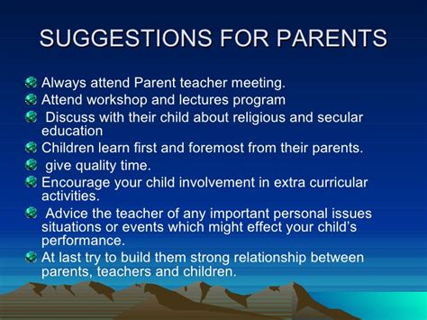 8 Points About Parenthood by Parent Partnership