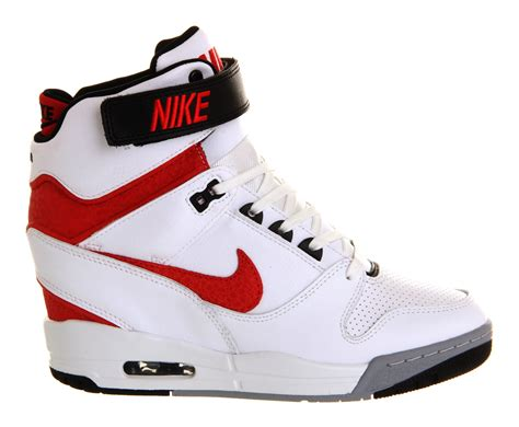 Nike Air Revolitions 373753839 lyst nike air revolution sky hi in white