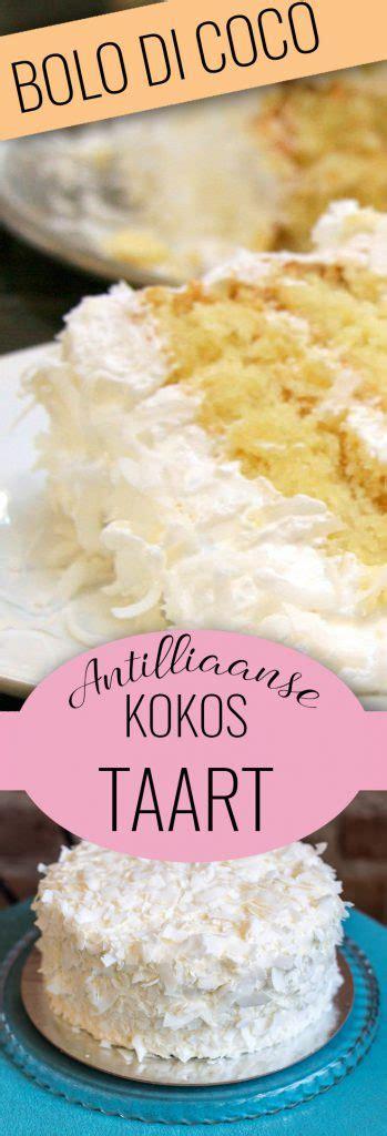 di bolo bolo di coco antilliaanse kokostaart met cheese