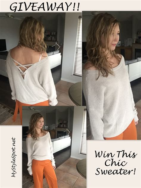 Good Giveaways For Events - giveaway win a chic sweater tons of other fab prizes in the winter is coming