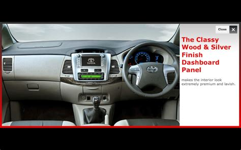 Cover Dashboard Toyota Innova toyota innova facelift launched from inr 12 45 lakhs